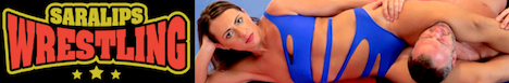 sara lips wrestling banner links