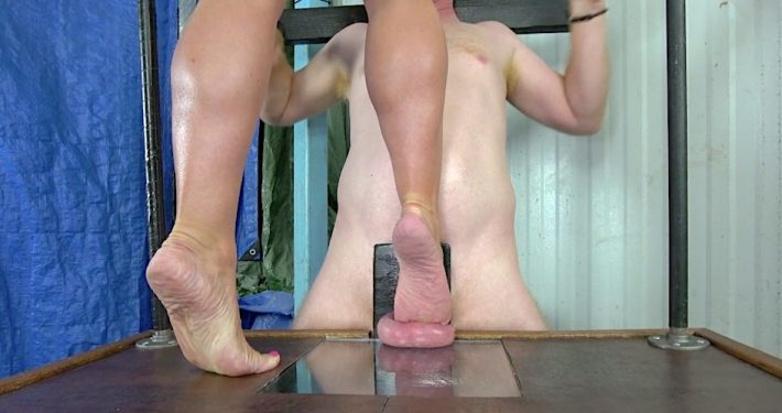 ball busting dominatrix